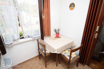 Poreč, Dining room u smještaju tipa apartment, dopusteni kucni ljubimci i WIFI.