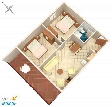 Apartment A-6926-a - Apartments Fiorini (Novigrad) - 6926