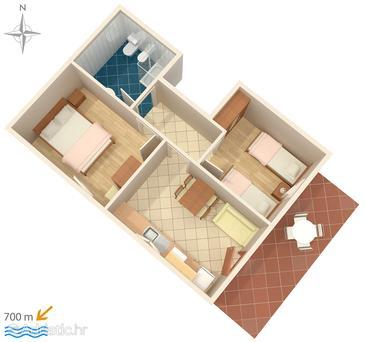 Apartment A-6932-b - Apartments Umag (Umag) - 6932