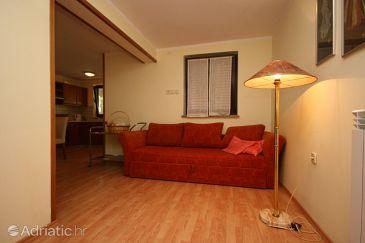 Vrsar, Living room u smještaju tipa apartment, dopusteni kucni ljubimci i WIFI.