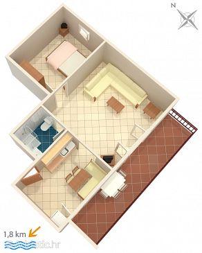 Apartment A-6951-a - Apartments and Rooms Novigrad (Novigrad) - 6951