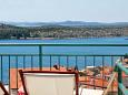 Shared terrace - view - Apartment A-6968-a - Apartments Šibenik (Šibenik) - 6968