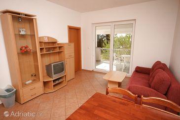 Novigrad, Living room u smještaju tipa apartment, dopusteni kucni ljubimci i WIFI.