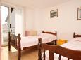 Umag, Bedroom 2 u smještaju tipa apartment, dopusteni kucni ljubimci i WIFI.