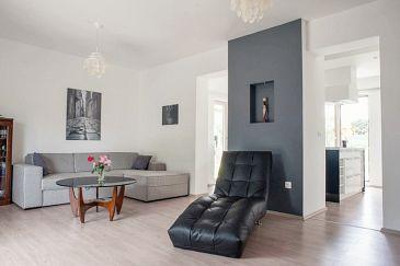 Fiorini, Living room u smještaju tipa apartment, dostupna klima, dopusteni kucni ljubimci i WIFI.