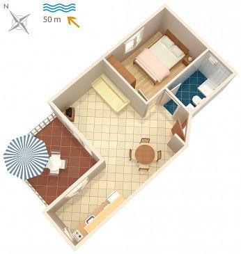 Apartament A-705-c - Apartamenty Postira (Brač) - 705