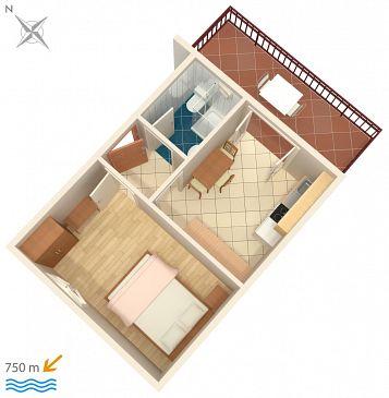 Apartament A-7055-a - Apartamenty Funtana (Poreč) - 7055