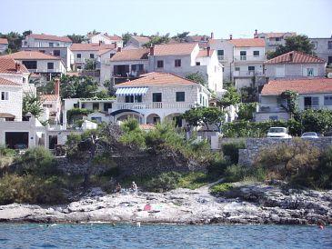 Obiekt Postira (Brač) - Zakwaterowanie 706 - Apartamenty blisko morza z kamienistą plażą.
