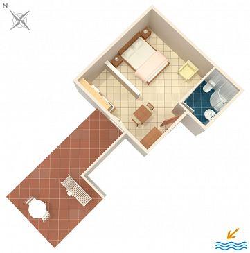 Studio flat AS-7098-a - Apartments Rovinj (Rovinj) - 7098
