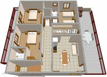 Apartment A-711-a - Apartments Povlja (Brač) - 711