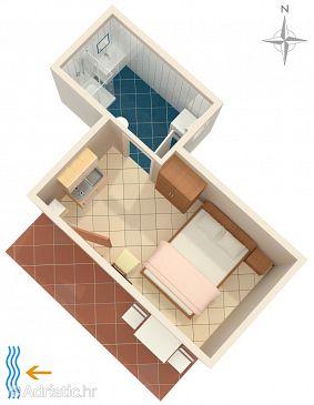 Studio flat AS-7126-a - Apartments and Rooms Umag (Umag) - 7126