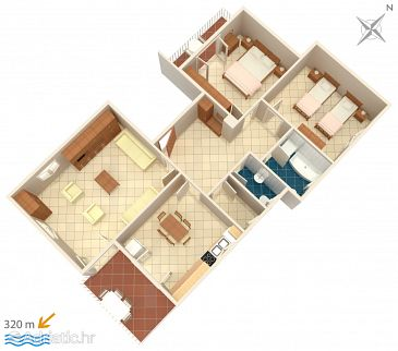 Apartment A-7144-a - Apartments Rovinj (Rovinj) - 7144