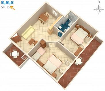 Apartment A-7171-a - Apartments Umag (Umag) - 7171