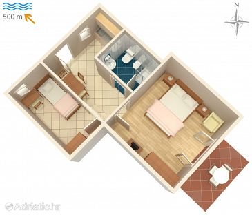 Apartment A-7171-c - Apartments Umag (Umag) - 7171