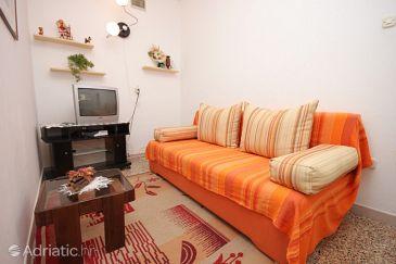 Medulin, Living room u smještaju tipa apartment, dopusteni kucni ljubimci i WIFI.