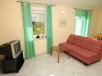 Medulin, Living room u smještaju tipa apartment, dostupna klima i WIFI.