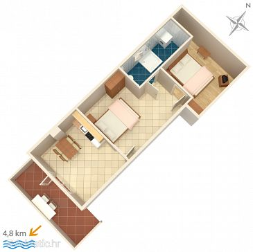 Apartment A-7202-a - Apartments Pula (Pula) - 7202