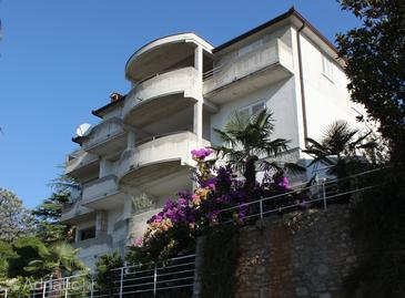 Property Rabac (Labin) - Accommodation 7220 - Apartments with pebble beach.