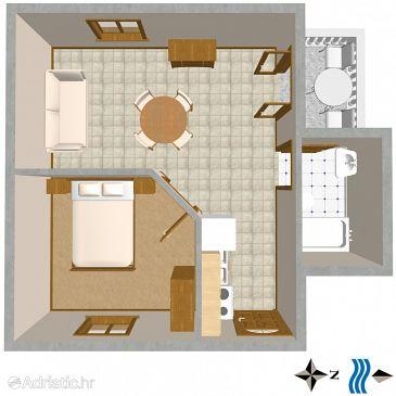 Apartment A-723-b - Apartments Povlja (Brač) - 723