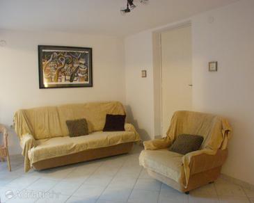 Supetar, Living room u smještaju tipa apartment, WIFI.