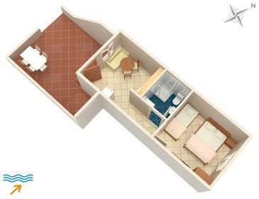 Apartament A-726-c - Apartamenty Mirca (Brač) - 726