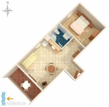 Apartment A-7302-a - Apartments Fažana (Fažana) - 7302