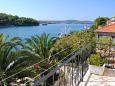 Milna, Balcony u smještaju tipa apartment, s pogledom na more, dopusteni kucni ljubimci i WIFI.