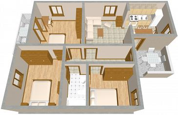 Apartament A-737-b - Apartamenty Postira (Brač) - 737