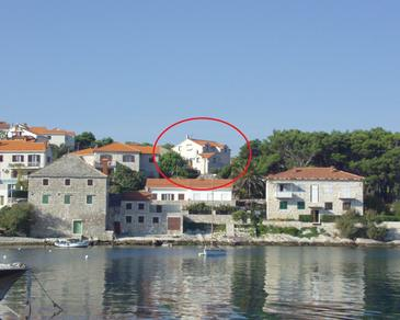 Property Postira (Brač) - Accommodation 739 - Apartments near sea with pebble beach.