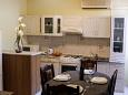 Sveti Bartol, Kuchyně u smještaju tipa apartment, dostupna klima, dopusteni kucni ljubimci i WIFI.
