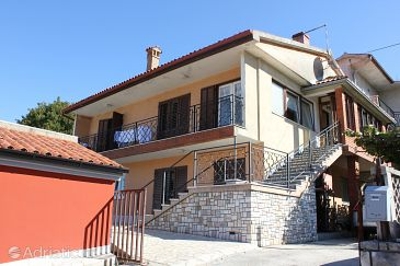 Property Štrmac (Labin) - Accommodation 7402 - Apartments with pebble beach.