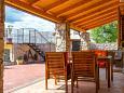 Kožljak, Terrace u smještaju tipa house, dopusteni kucni ljubimci i WIFI.