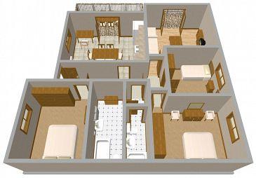Apartament A-741-a - Apartamenty Postira (Brač) - 741