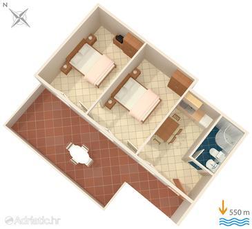 Apartment A-7439-a - Apartments Rabac (Labin) - 7439