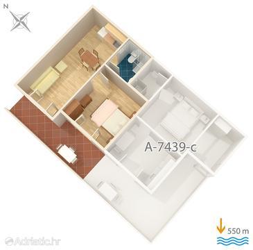 Apartment A-7439-b - Apartments Rabac (Labin) - 7439