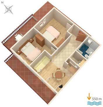Apartament A-7439-e - Apartamenty Rabac (Labin) - 7439