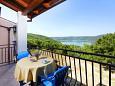 Balcony - Apartment A-7446-a - Apartments Trget (Raša) - 7446