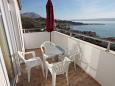 Terrace - Apartment A-7482-a - Apartments Mali Rat (Omiš) - 7482