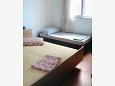 Mali Rat, Sypialnia 1 w zakwaterowaniu typu apartment, dopusteni kucni ljubimci i WIFI.