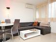 Split, Living room u smještaju tipa apartment, dostupna klima, dopusteni kucni ljubimci i WIFI.