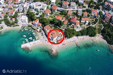 Pisak, Omiš, Property 7519 - Apartments and Rooms blizu mora with pebble beach.