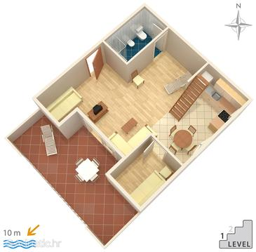 Apartment A-7520-c - Apartments Pisak (Omiš) - 7520