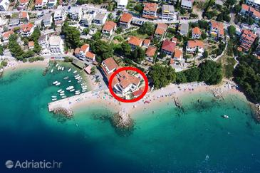 Property Pisak (Omiš) - Accommodation 7520 - Apartments near sea with pebble beach.