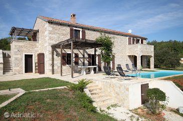Property Škrapi (Središnja Istra) - Accommodation 7527 - Vacation Rentals with pebble beach.