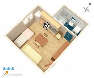 Studio AS-7528-a - Apartamenty Split (Split) - 7528