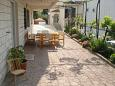 Courtyard Duće (Omiš) - Accommodation 7532 - Apartments with sandy beach.