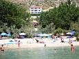 Property Duće (Omiš) - Accommodation 7532 - Apartments with sandy beach.