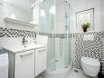 Bathroom - Apartment A-7540-b - Apartments Zatoglav (Rogoznica) - 7540