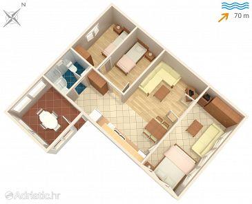 Apartment A-7549-a - Apartments Supetar (Brač) - 7549