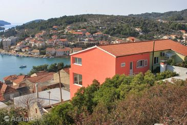 Property Vela Luka (Korčula) - Accommodation 7551 - Apartments with pebble beach.